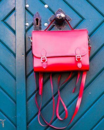 Leather unique bag