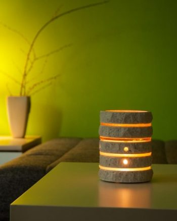 Unique Essential oil diffuser stone lamp