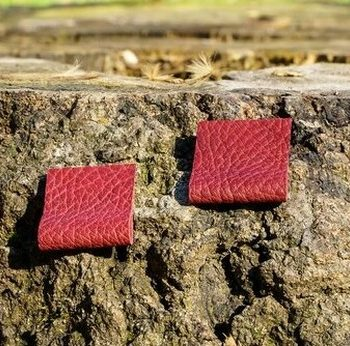 Leather Unique Earrings