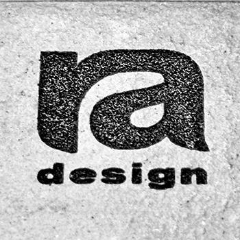 ra design logo