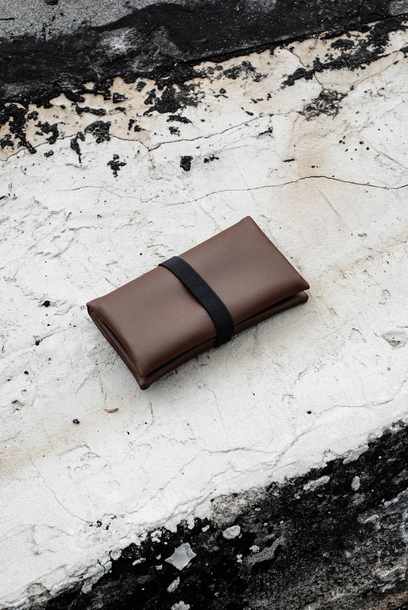 GREI tobacco pouch brown