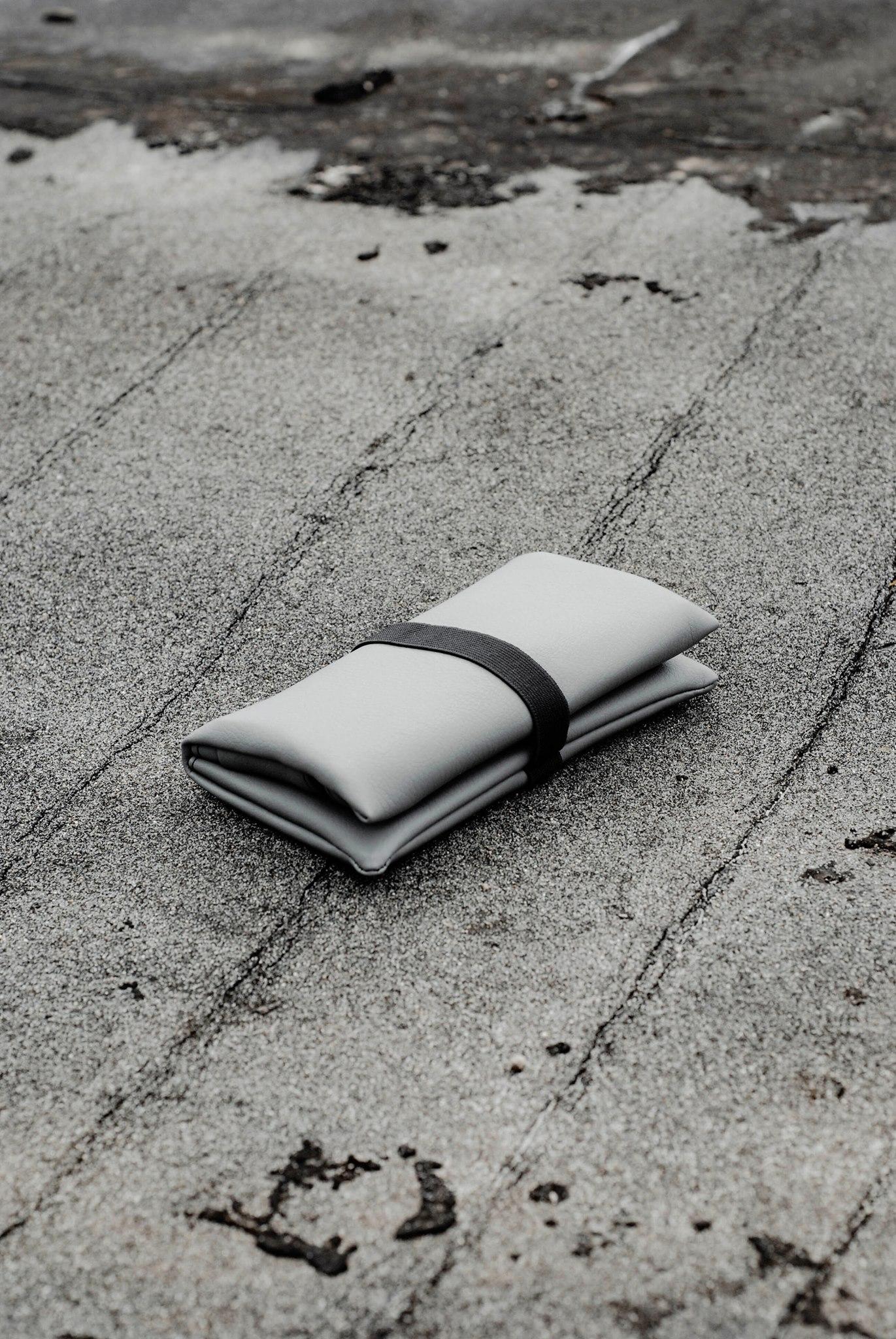 GREI tobacco pouch gray