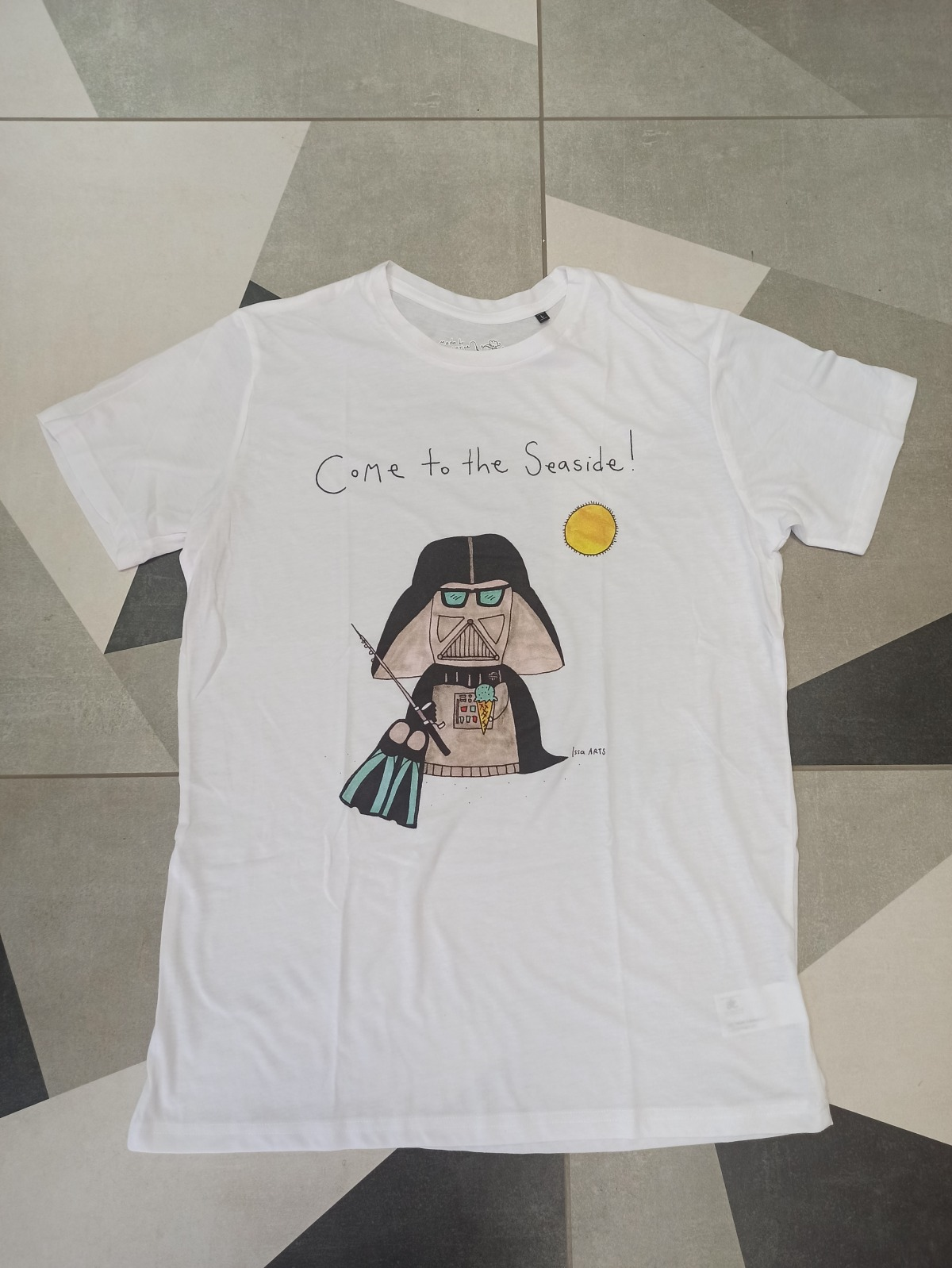 """T-shirt """"Come to the Seaside!"""" Issa Arts"""