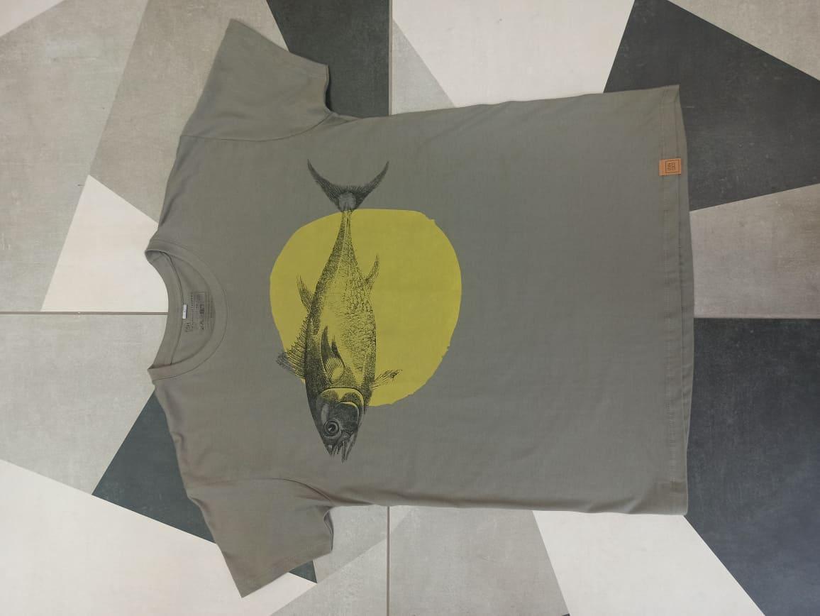 handprinted t-shirt