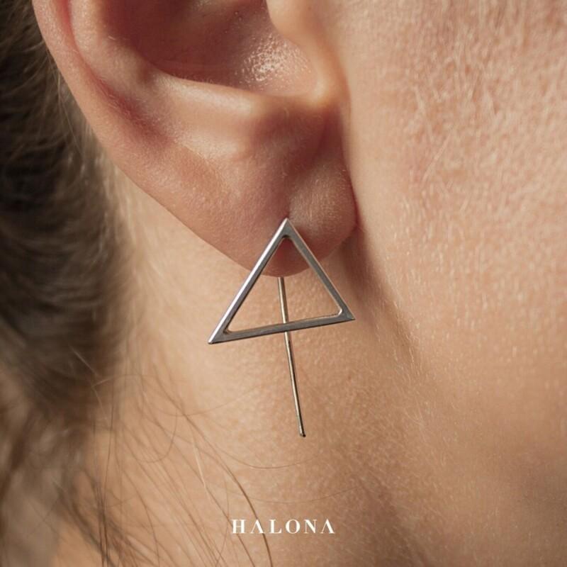 Silver Earrings Halona